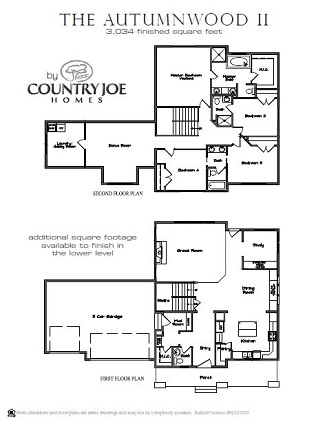 Autumnwood II floorplan