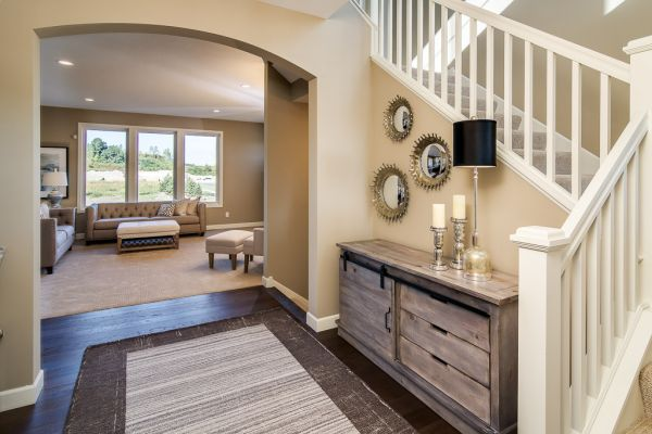 4 Entry and Living Room