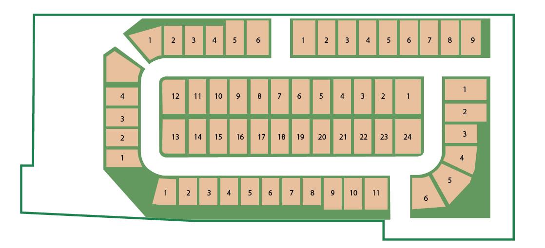 Regetta Fields Plat Map