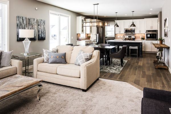 4 Living Room, Dining and Kitchen