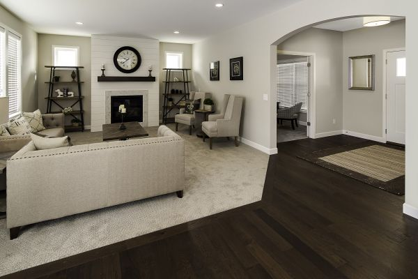3 Entry and Living Room
