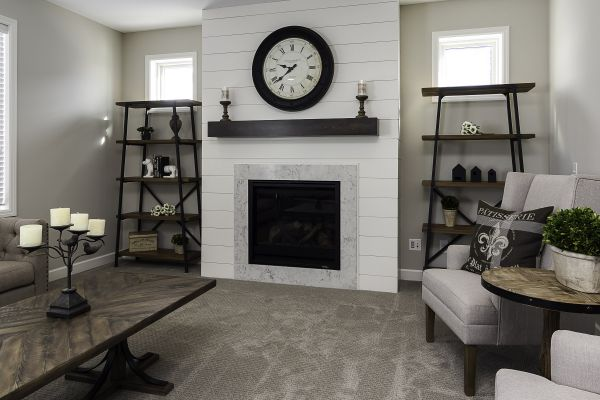 5 Living Room Fireplace