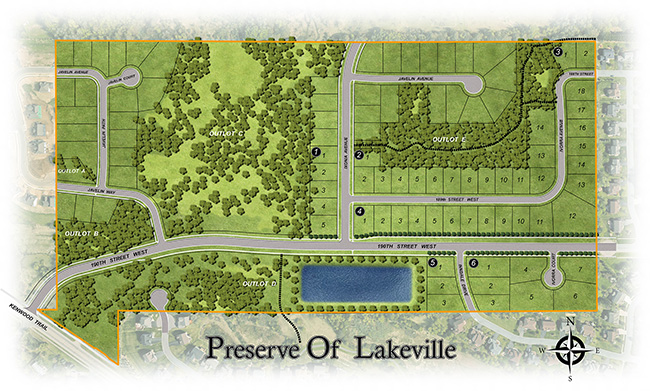 The Preserve Site Plan